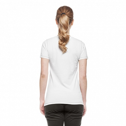 ESEARCH SS BF FRANCY T-SHIRT LADY OFF WHT