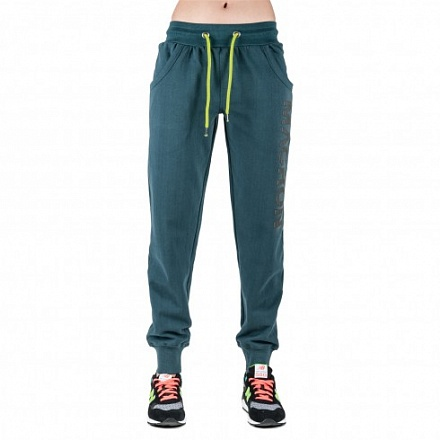 Pantaloni in felpa Belinda Research verde Fall Winter 2014